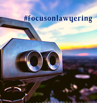 Lexconscientia ocus on Lawyering