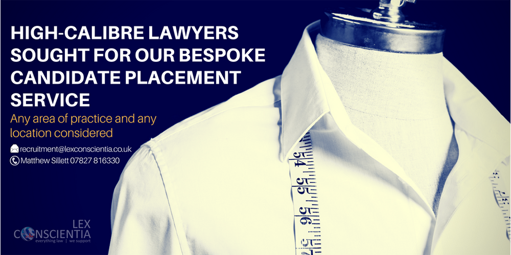 High Calibre Lawyers Sought